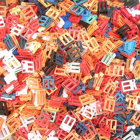 Déchets plastiques collectés LR PLAST